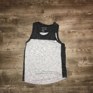 White and black muscle T